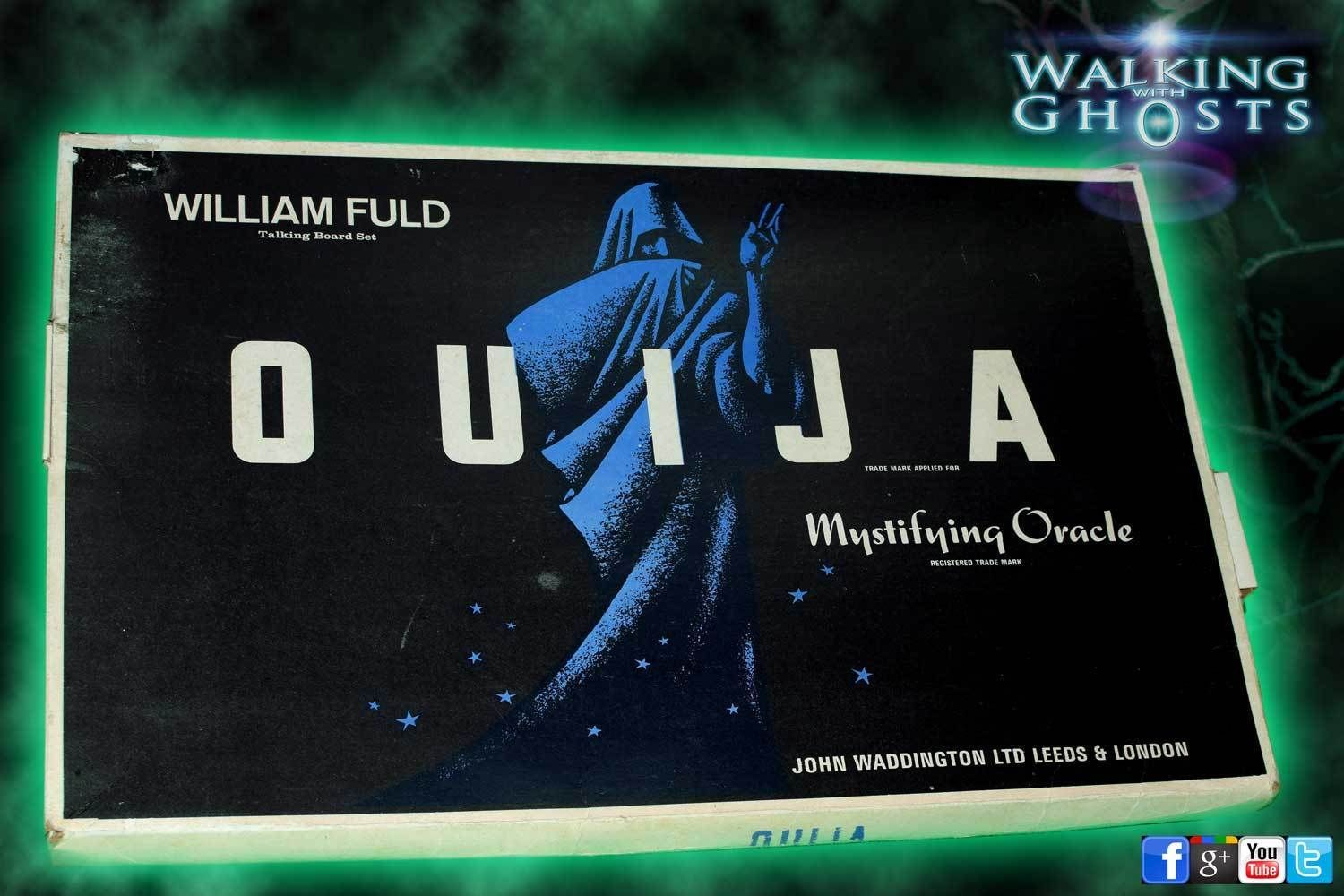 Ouija Board Rare1960s Williams Fuld John Waddington Uk Vintage