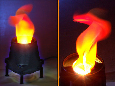 Silk Flame Simulated Fire Effect Light /Base Unit Lamp